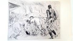 André Dunoyer de Segonzac - La Mêlée - Original Etching