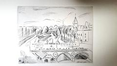 Henri Matisse - The Saint Michel Bridge - Original Etching