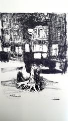 Pierre Bonnard - The Street - Original Etching