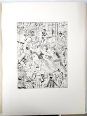 Léonard Foujita - Paris - Original Etching