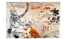 Salvador Dali - Don Quichotte - Original Lithograph