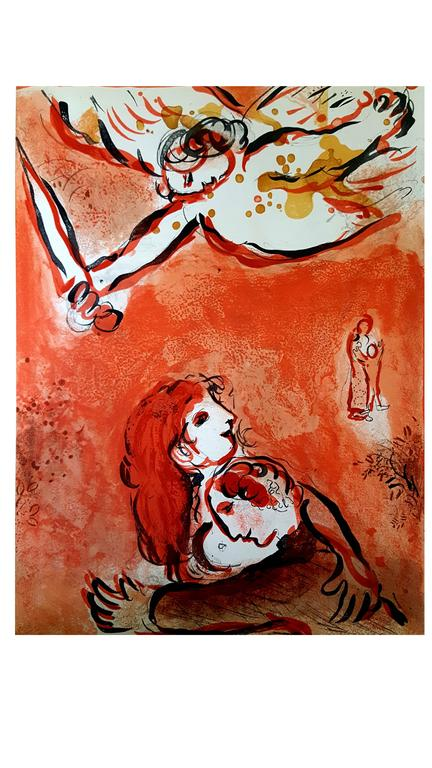 Marc Chagall - The Bible - The Maid of Israel - Original Lithograph