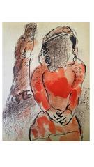 Marc Chagall - The Bible - Tamar - Original Lithograph