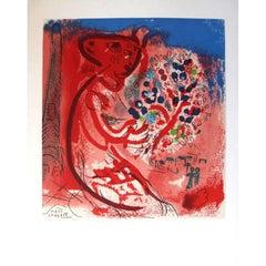 Marc Chagall (after) - Lettre à mon peintre Raoul Dufy