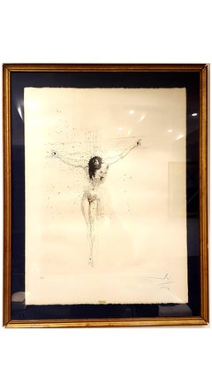 Salvador Dali - Christ - Handsigned Etching