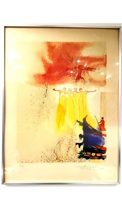 Salvador Dali - Fairy - Handsigned Lithograph