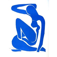 After Henri Matisse - Blue Nude