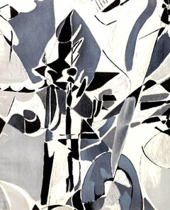 André Lanskoy  - Composition - Mourlot Lithographic Poster