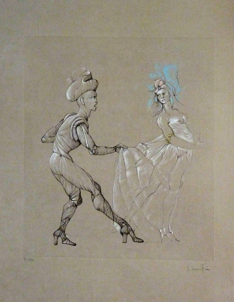 Leonor Fini - Women - Original Signed and Numbered Engraving