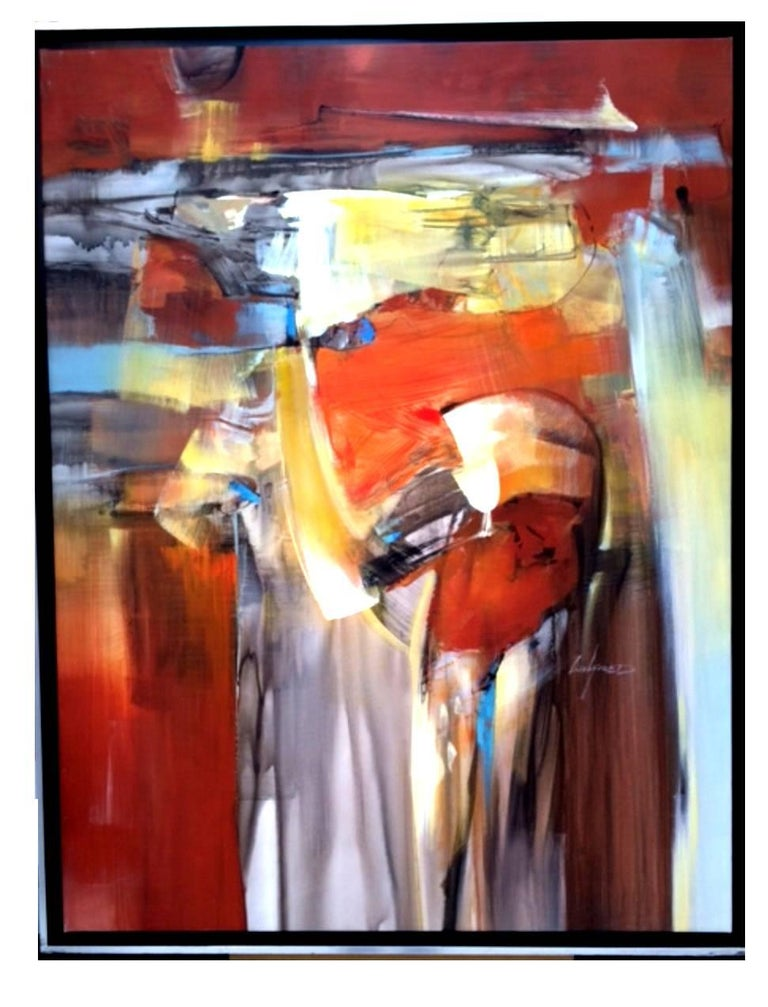 Wilfred Lang - Abstraction - Signed Painting