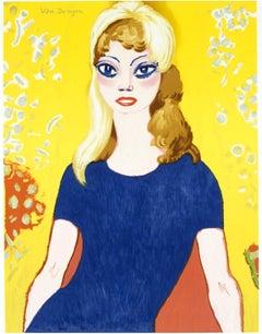 Kees Van Dongen - Brigitte Bardot - Original Exhibition Poster