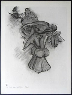 Lithograph - Flowers