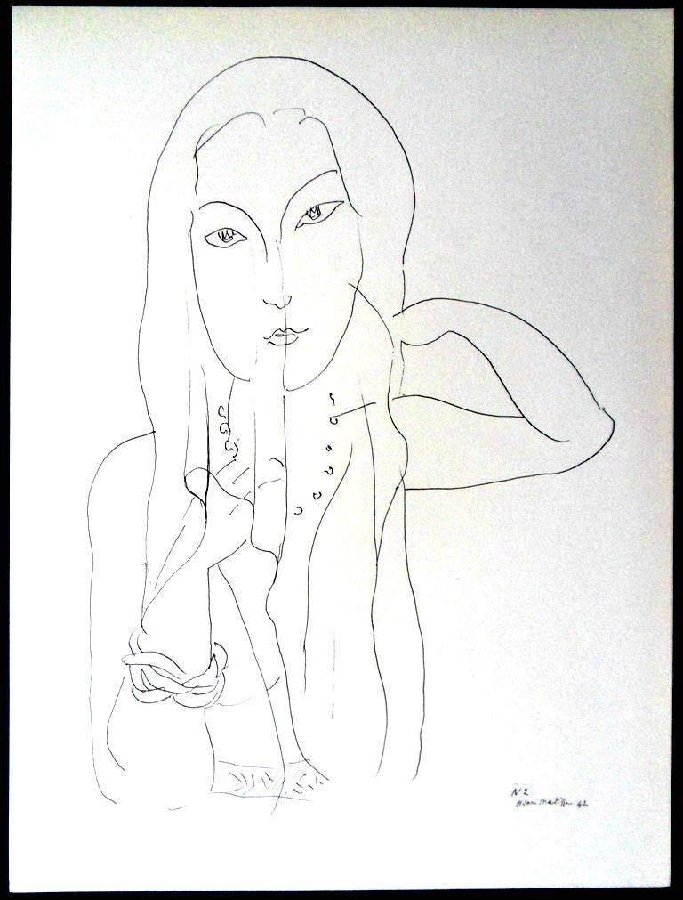 Henri Matisse (After) - Lithograph - Flowers