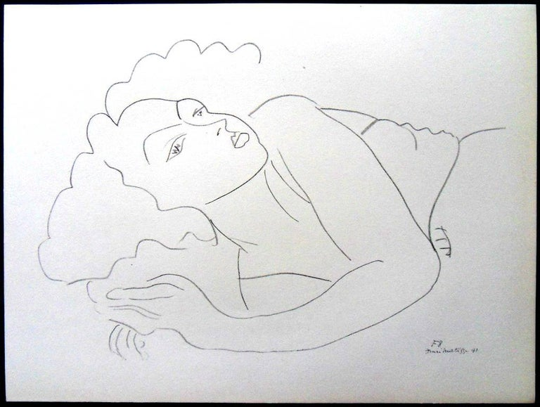 Henri Matisse (After) - Lithograph - Woman in Repose