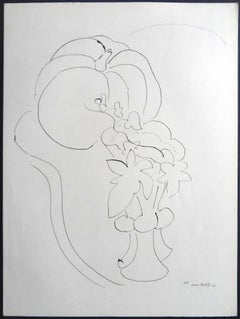 Henri Matisse (After) - Lithograph - Pumpkin and Flowers