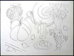 Henri Matisse (After) - Lithograph - Flowers and Vessels
