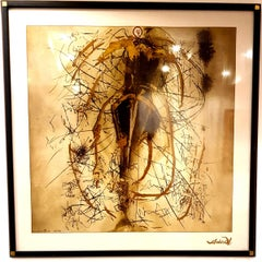 after Salvador Dali - Screen Printing on Silk