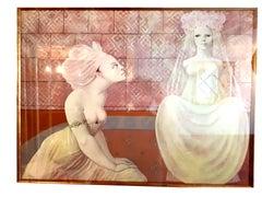Leonor Fini - Two Friends - Handsigned Original Lithograph