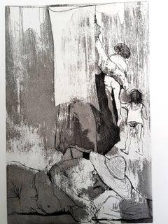 Jean Jansem - Original Etching
