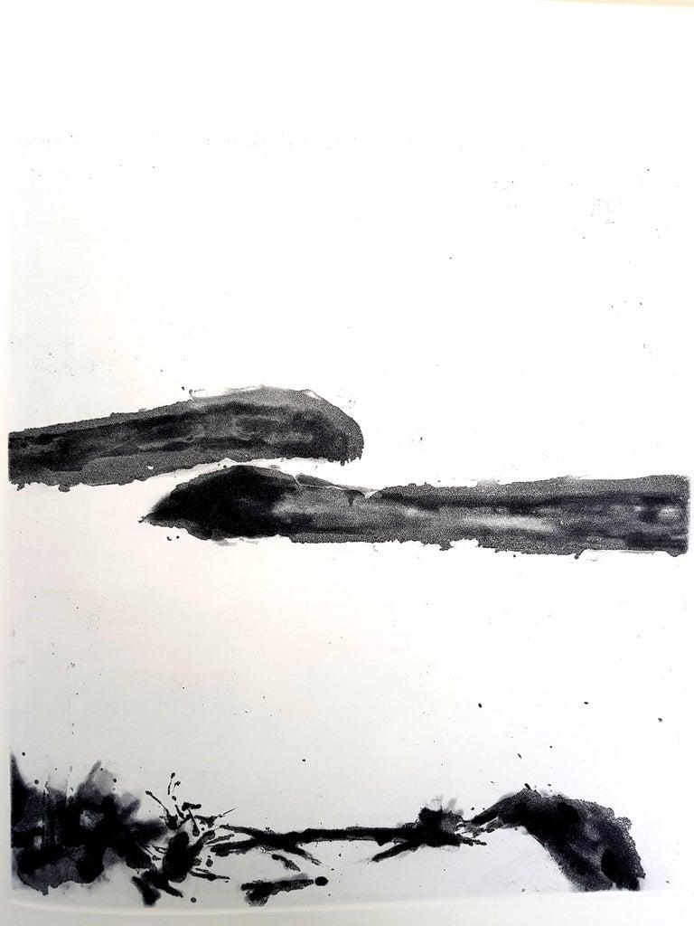 Zao Wou-ki - Moments - Original Aquatint