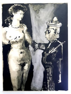 The Human Comedy - Lithograph