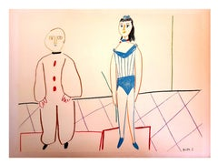 """The Human Comedy - Lithograph from """"Verve"""""""