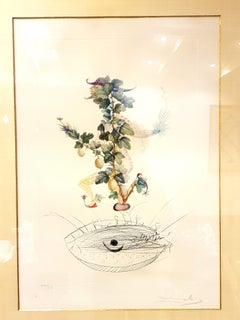 Salvador Dali - Currant's Reverence - Original Hand-Signed Lithograph