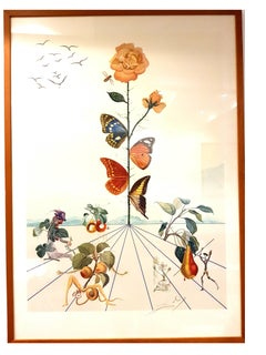Salvador Dali - Flordali II - Original Lithograph