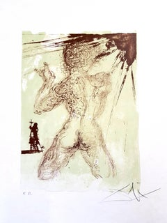 Salvador Dali - Grey Nude - Original Handsigned Lithograph