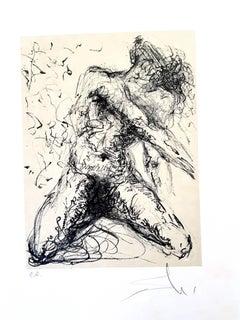 Salvador Dali - Le Pecheur - Original Handsigned Lithograph