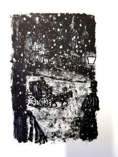 Antoni Clavé - Original Lithograph - For Pushkin's Queen of Spades