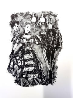 Antoni Clavé - Original Lithograph - For Pushkin's Queen of Spades