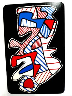 Jean Dubuffet - Le Hochet - Original Screenprint