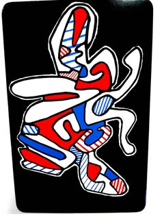 Jean Dubuffet - La Mouche - Original Screenprint