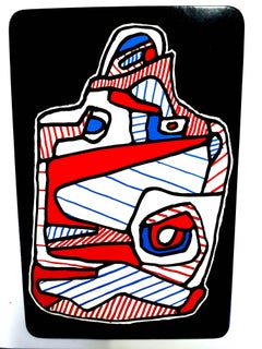 Jean Dubuffet - La Valise - Original Screenprint
