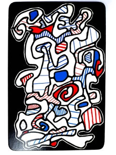 Jean Dubuffet - Le Gitan - Original Screenprint