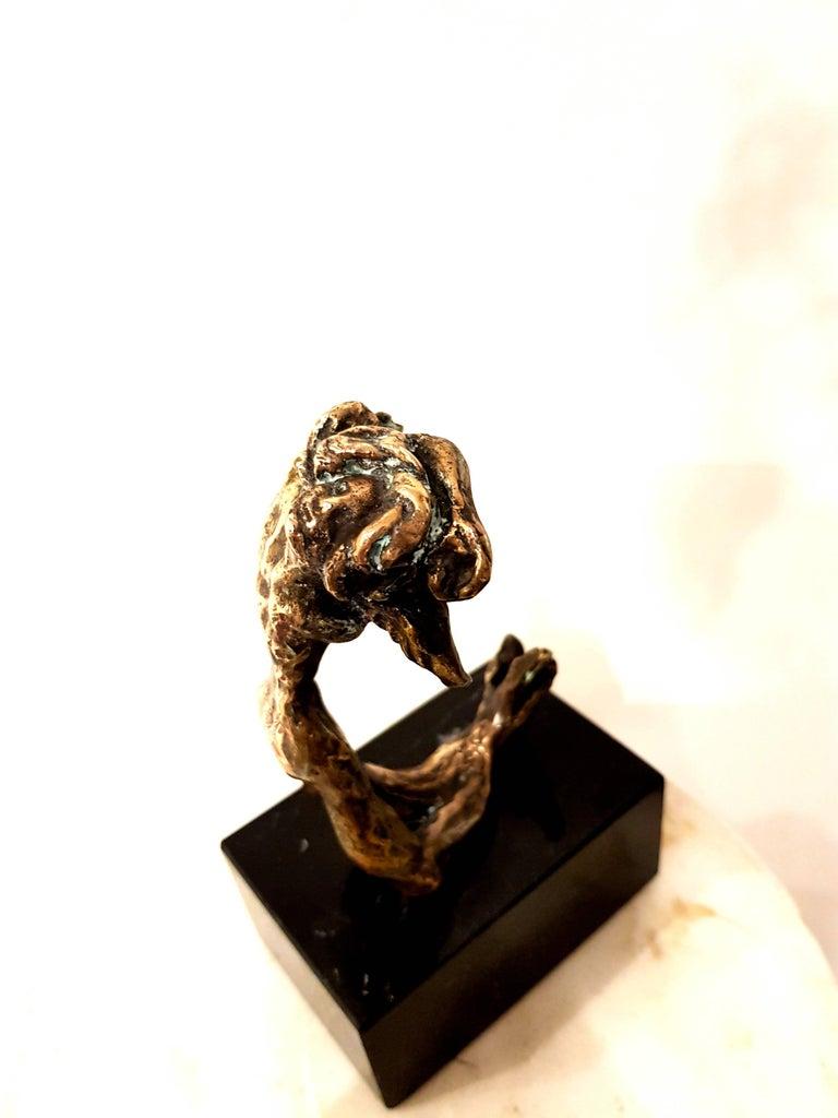 Salvador Dali - Victory Angel - Original Bronze Sculpture For Sale 5