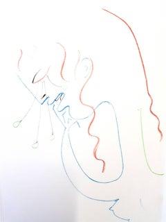 Jean Cocteau - Antigone - Original Lithograph