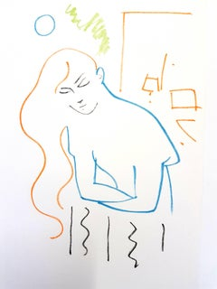 Jean Cocteau - Juliet Waiting for Romeo - Original Lithograph