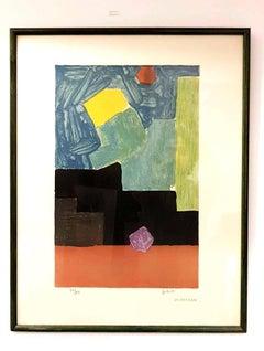 Emile Gilioli - Abstract Composition - Original Handsigned Lithograph
