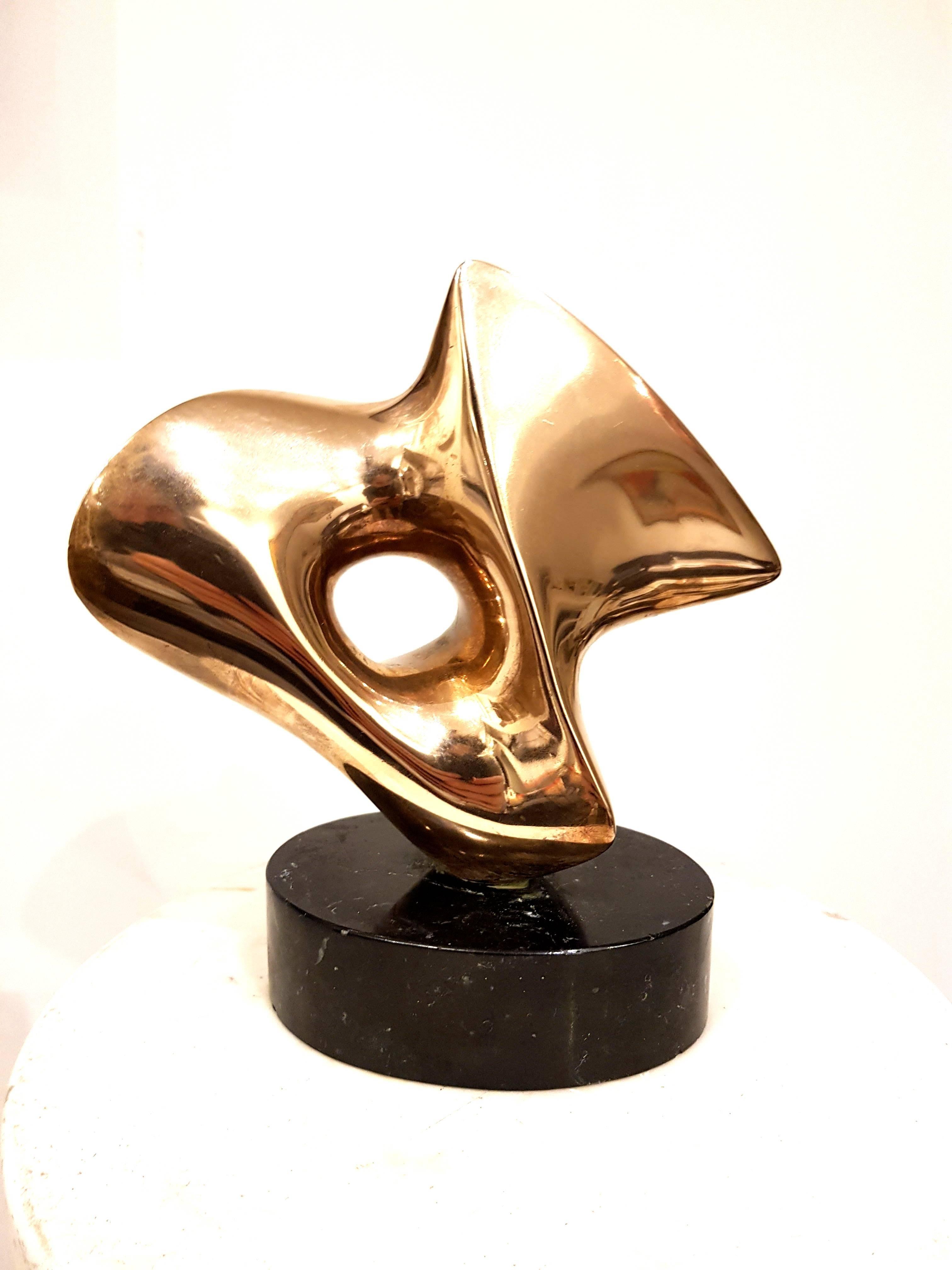 Antoine Poncet - Unique Signed Bronze Sculpture