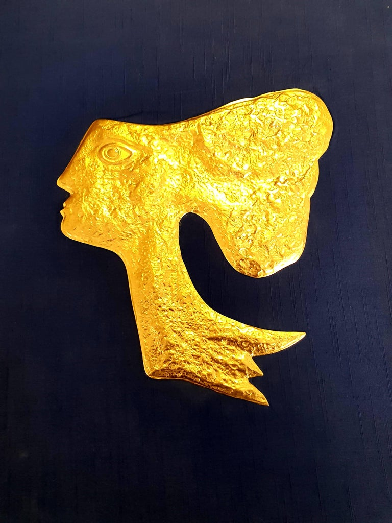 Georges Braque (after) - 12 Gold Leaf Enhanced Etchings - Gods  - Print by (after) Georges Braque