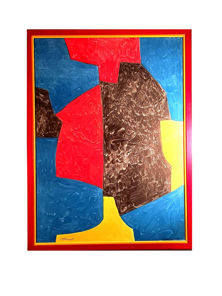 Abstract Composition - Lithograph