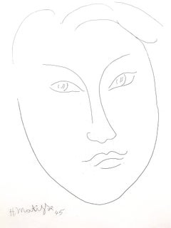 Henri Matisse - Young Man - Original Etching
