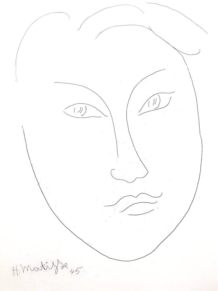 Henri Matisse - Young Man - Original Etching