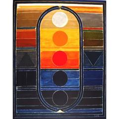 Sayed Haider Raza - Five Elements - Signed Lithograph