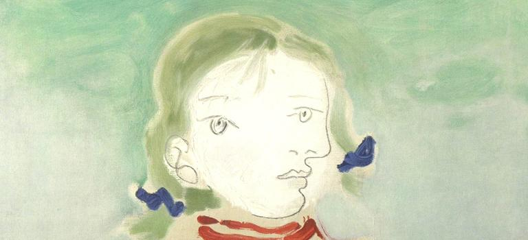 Maya in a Pinafore  - Print by (after) Pablo Picasso