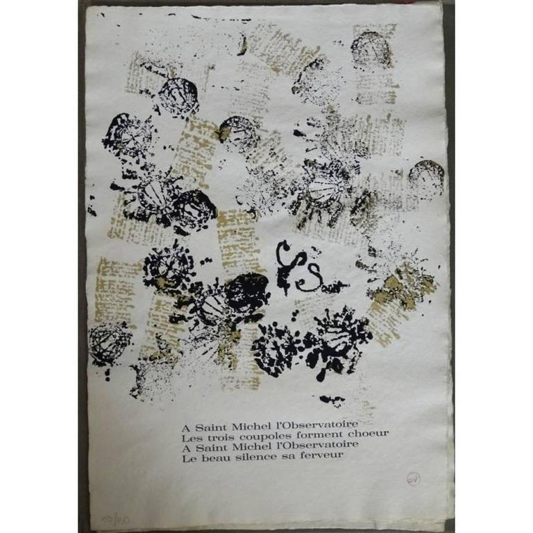 Arman - Saint Michel - Rare Portfolio of 12 Serigraphies and Engravings For Sale 2