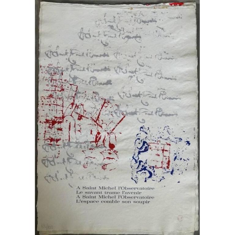 Arman - Saint Michel - Rare Portfolio of 12 Serigraphies and Engravings For Sale 3