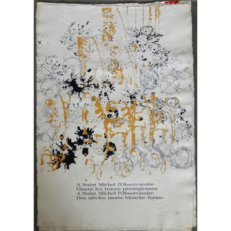 Arman - Saint Michel - Rare Portfolio of 12 Serigraphies and Engravings For Sale 4